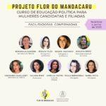 Curso de Educação Política para Mulheres Candidatas e Filiadas